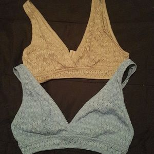 Bundle of Two women's Bralettes